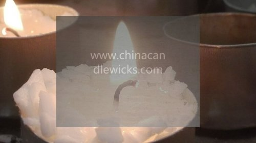 Soy wax for candles with cheap candle wax wick (500g)