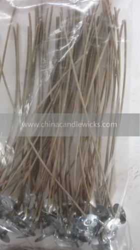 8'Brown High Quality Hemp Candle Wick With Natural Beeswax Coating 100pcs/bag