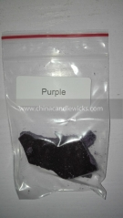 solvent resistant glitter candle dye for Candle craft candle dye 10g/bag purple