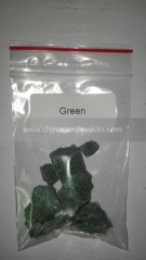 solvent resistant glitter candle dye for Candle craft candle dye 10g/bag green