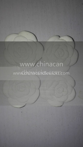 natural material hand crafts scented plaster perfume stone for air freshener (Rose 4pieces)